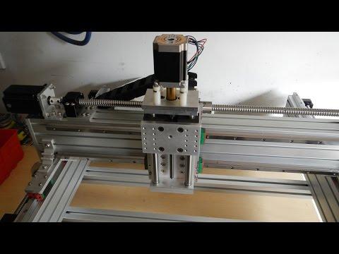 Tabletop Extrusion CNC Router Build - Part 2