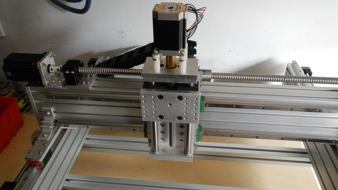 Tabletop Extrusion Cnc Router Build Part 2 Youtube
