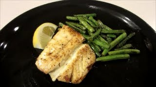 How To Pan Sear Halibut - Simple Recipe!