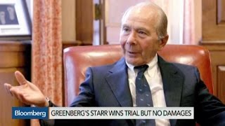 Greenberg Wins Trial But No Damages in AIG Bailout Fight