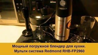 Потужний занурювальний блендер для кухні. Мульти система Redmond RHB-FP2960