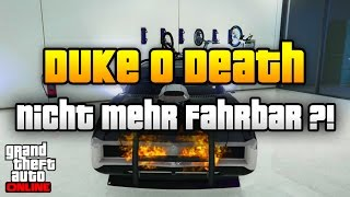 GTA 5 Online | DUKE O DEATH EXPLODIERT BEIM EINSTEIGEN ! | RARE CARS IN GTA ONLINE | Info Deutsch