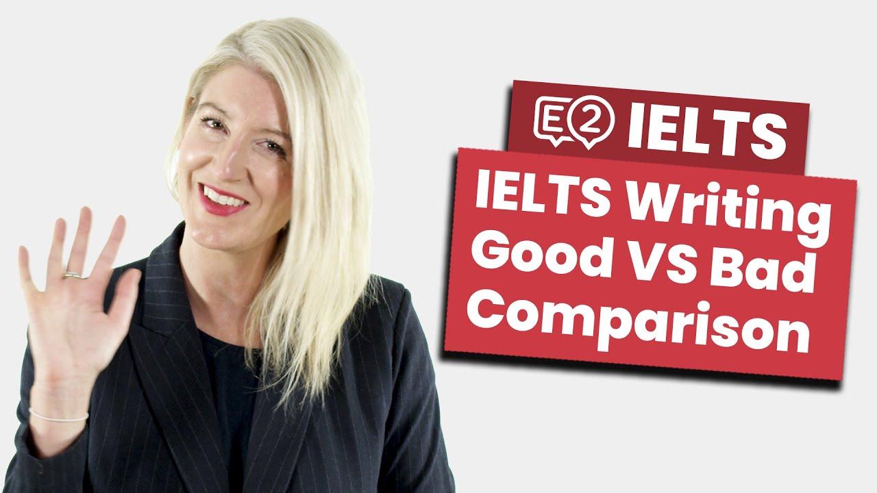 IELTS Writing Task 2 Essay Comparison | Good VS Bad