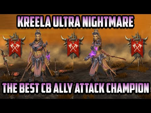 Kreela Witch-Arm is the Best Ally Attack for Clan Boss I Raid Shadow Legends