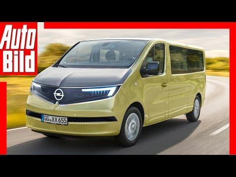 Zukunftsaussicht Opel Vivaro 2019 Details Erklarung Youtube