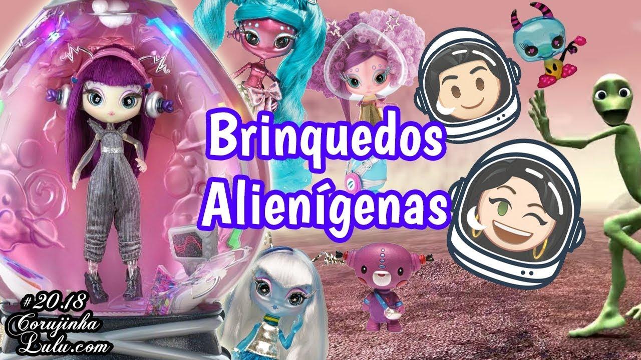 Download Abrindo BRINQUEDOS e BONECAS Alienígenas 👽 Coleção Novi Stars Barbie lol Review