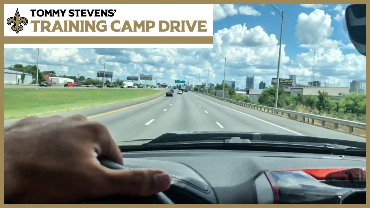 Saints QB Tommy Stevens Drives from Indy to New Orleans for 1st NFL Training Camp