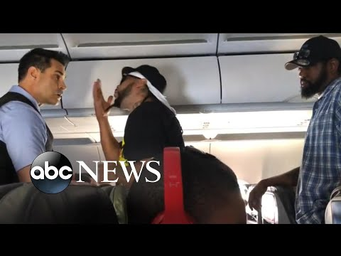 Julian Lee - American Airline Passenger Starts a Fight Over a Beer
