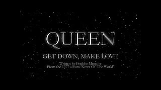 Queen - Get Down, Make Love (Official Lyric Video)
