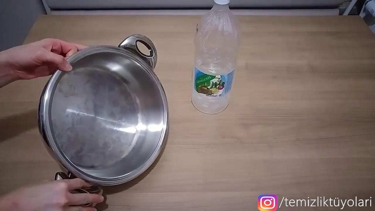 Tenceredeki, Çaydanlıktaki Yağ Lekeleri Nasıl Çıkar