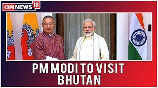 PM Modi On 2-Day Visit To Bhutan; Bilateral Ties, Collaboration In Hydroelectric Sector On Agenda