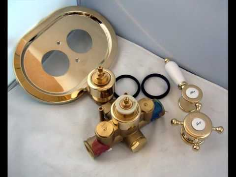 Concealed Shower Valves Thermostatic Kit - YouTube