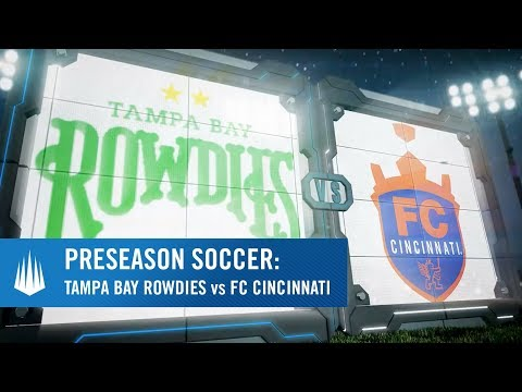 FC Cincinnati vs Tampa Bay Rowdies Presented by Bradenton Area Vistor & Convention Bureau