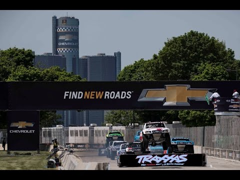2016 Detroit Stadium SUPER Trucks CBS Sports Network