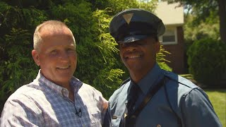 Retired Cop Reunites With New Jersey Trooper He Delivered 27 Years Ago