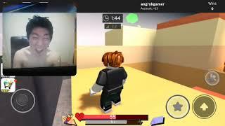 Angry Korean Gamer plays roblox (RAGE!!!) HILARIOUS