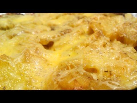 Вкусная картошка под сыром в духовке на праздничный стол, на Новый Год, Рождество [Вкусная находка]