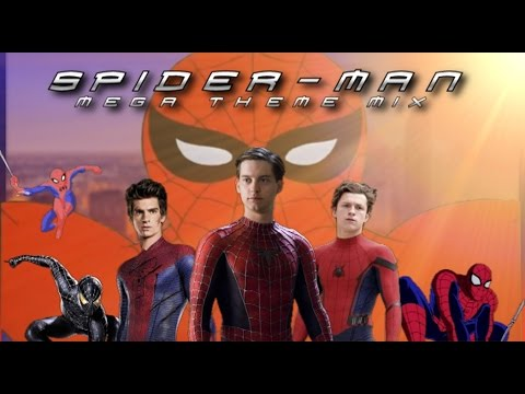 Spider-Man Film & TV (1967-2016) Mega-Theme cover