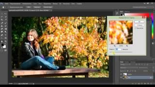 Как сделать размытый задний фон на фото онлайн