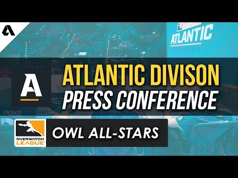 OWL Atlantic Division Press Conference | Overwatch League All-Star Weekend thumbnail