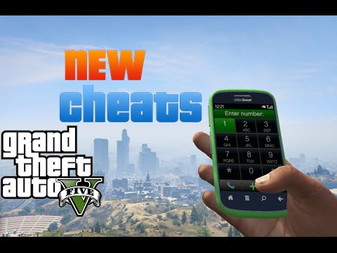 Gta 5 Cell Phone Codes Cheats 2018 (PS4,Xbox One and PC only
