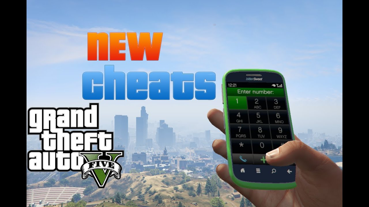 Gta 5 cell phone cheats xbox 360