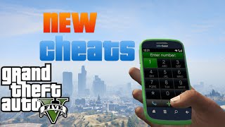 Gta 5 Cell Phone Codes/Cheats 2015/2016 (PS4,Xbox One and PC only!)