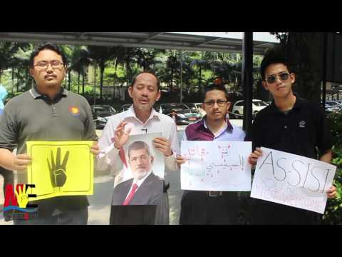 As-Sisi, You're Not Welcome To Malaysia!
