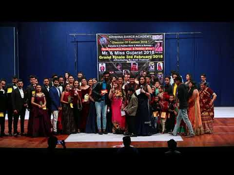 Krishna Dance Acedemy Presents Mr & Miss Gujarat 2018