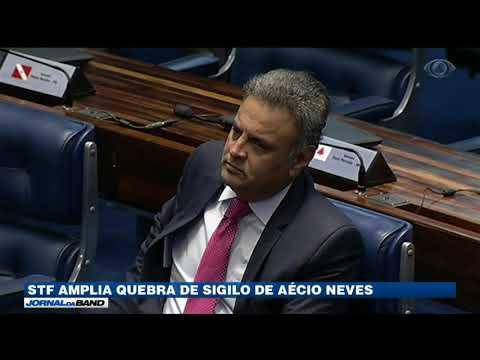 STF Amplia Quebra Do Sigilo De Aécio Neves