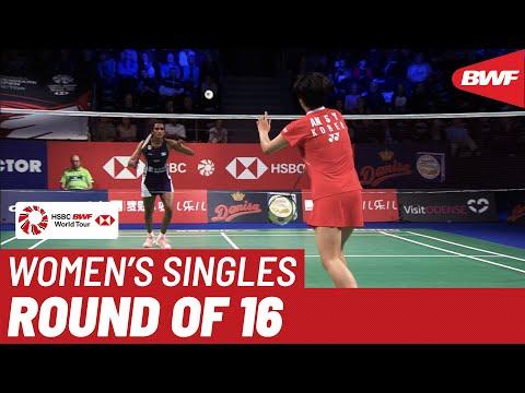 R16   WS   PUSARLA V. Sindhu (IND) [5] vs. AN Se Young (KOR)   BWF 2019