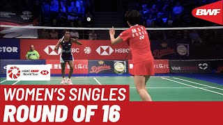 R16 | WS | PUSARLA V. Sindhu (IND) [5] vs. AN Se Young (KOR) | BWF 2019