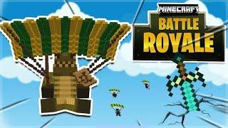 FORTNITE IN MINECRAFT!! Minecraft Battle Royale Mini-Game Server!