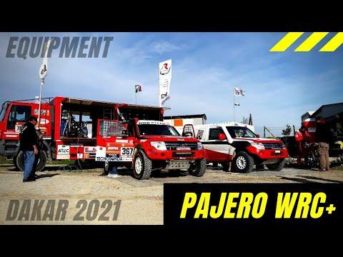 DAKAR 2021 ~ 😎TEST DAY RALLY ART PAJERO WRC+ 4x4 😎WRC TEST