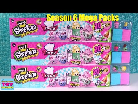 Shopkins Mega Packs Chef Club Season 6...