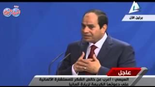 السيسى : لولا خروج المصريين فى