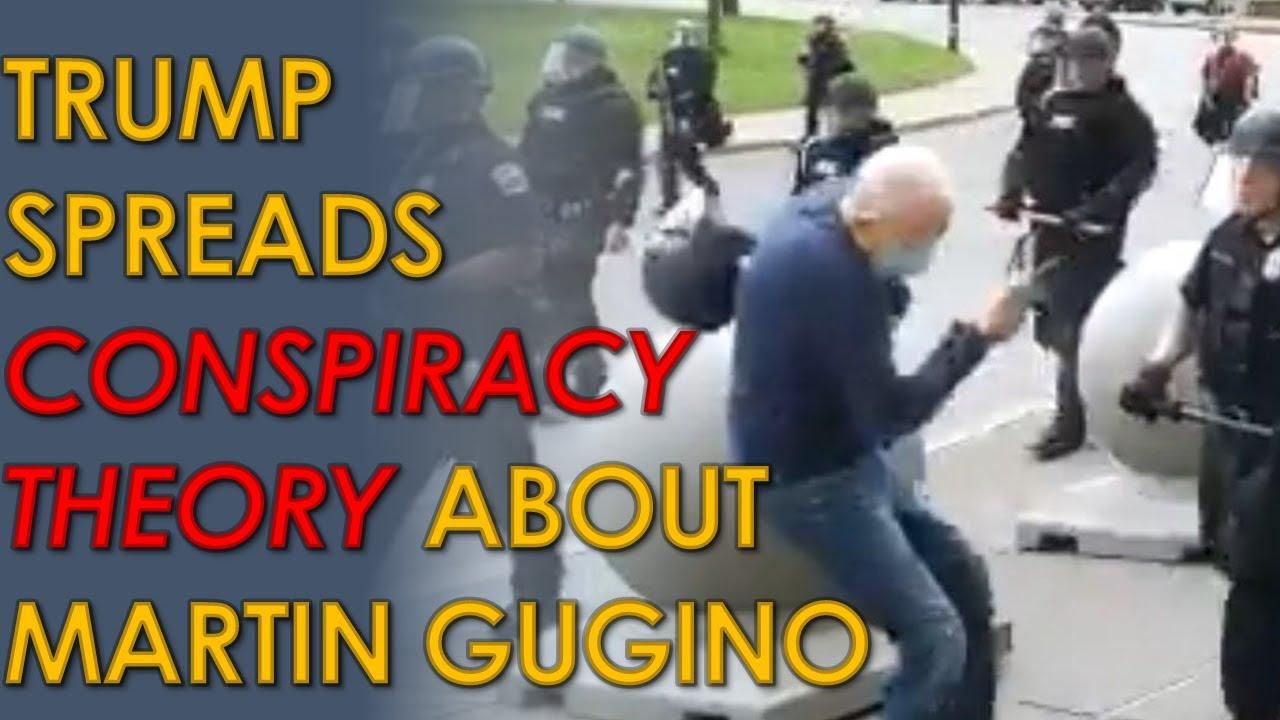 Donald Trump Calls Martin Gugino, Elderly Man Pushed by Buffalo ...
