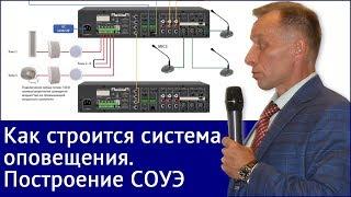 видео Монтаж систем оповещения и управления эвакуацией