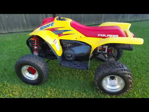 1999 Polaris Sport 400 Video YouTube