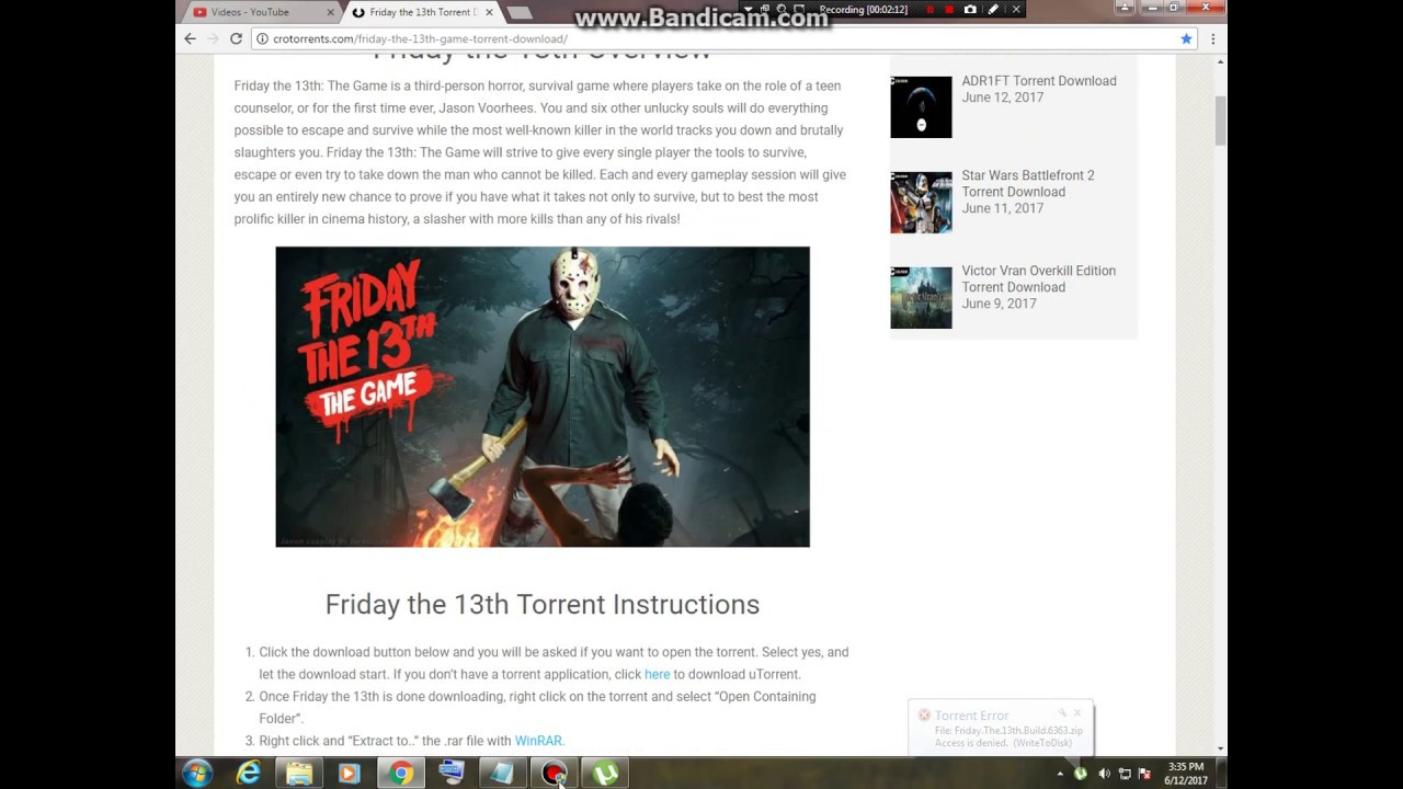 How to download games from torrents: instruction
