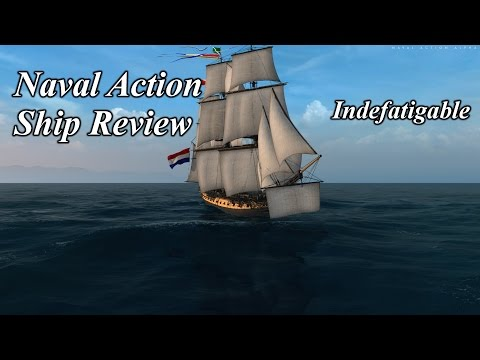 Naval Action Ship Review The Indefatigable