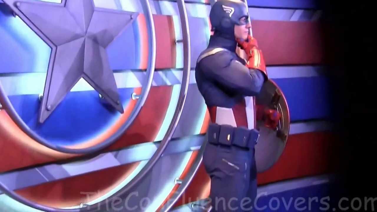 captain america meet and greet disneyland