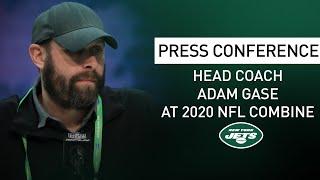 Adam Gase NFL Combine Press Conference (2/25) | New York Jets | NFL
