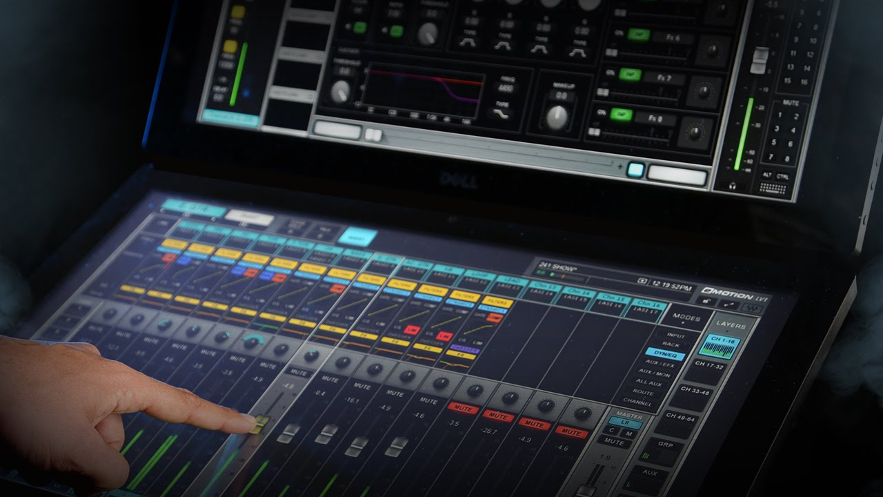 Waves Plugins and eMotion LV1 Mixer Used For Eurovision 2019