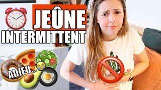 CHALLENGE JEÛNE INTERMITTENT : je ne mange pas 16h chaque jour pendant une semaine !