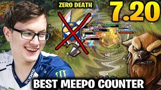 MIRACLE EARTHSHAKER - BEST MEEPO COUNTER DOTA 2 7.20c