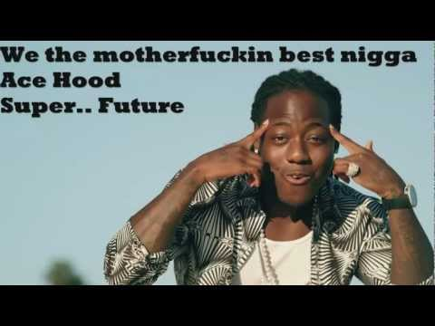 Ace Hood - Bugatti ft. Future & Rick Ross (Lyrics On Screen) New 2013