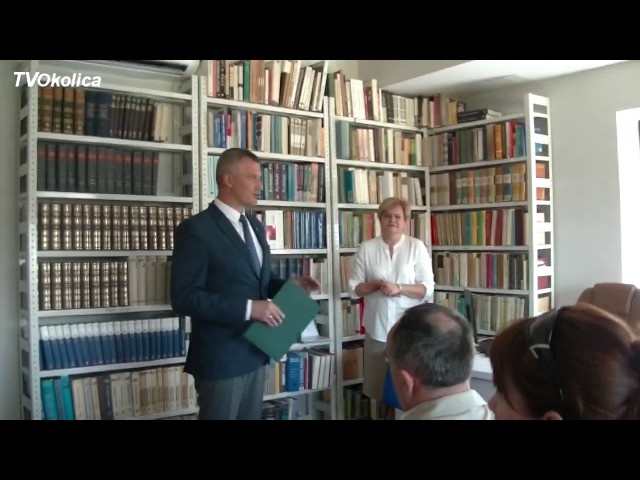 Otwarcie Biblioteki Pedagogicznej w Grójcu