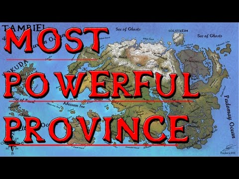 Which Province Is The Most Powerful In Tamriel? - Elder Scrolls Lore