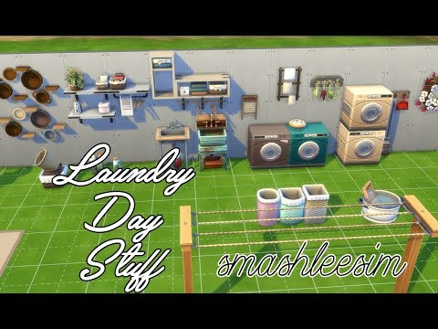 Sims4 Laundry Day Items |